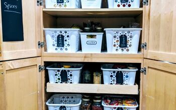 How To Organize A Slide Out Pantry