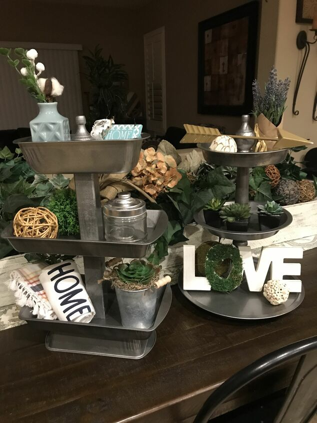 s 10 insanely cool projects that we can t wait to try in 2020, These stylish tiered trays from baking pans