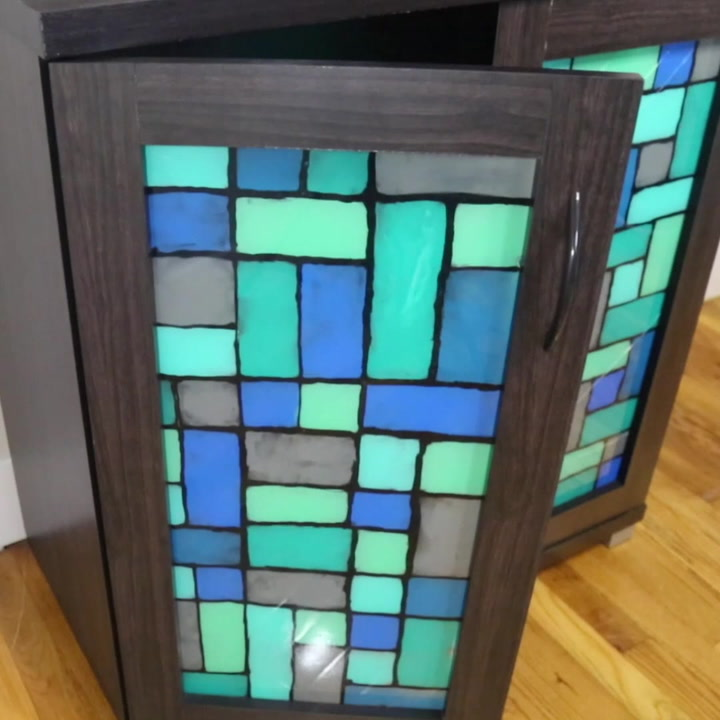 s 10 insanely cool projects that we can t wait to try in 2020, This faux stained glass technique