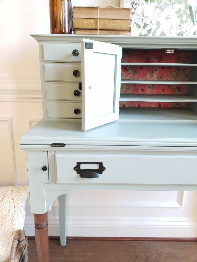 stately secretary makeover