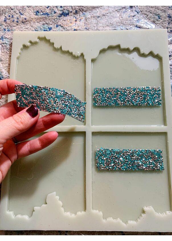 how to make iceberg resin coasters