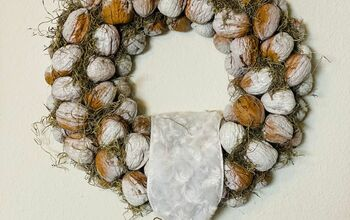 Walnut Wreath DIY
