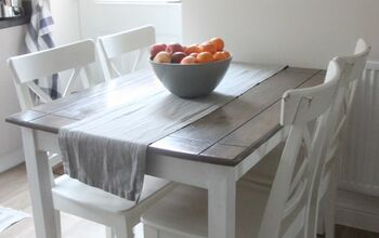 Farmhouse Style Table Transformation