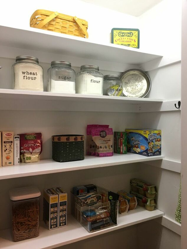 how we turned a coat closet into a functional pantry