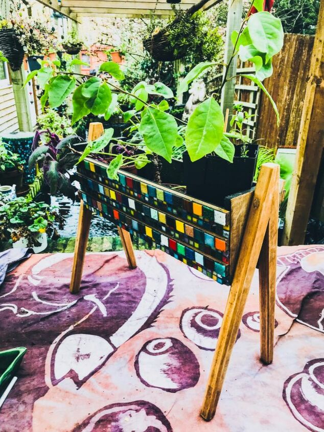 Vintage up Cycled planter