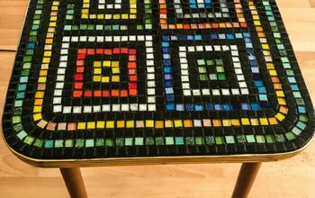 How to Transform an Old Coffee Table Into a Piece of Functional Art