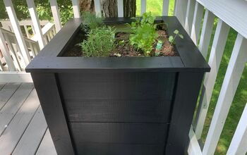 DIY Large Wooden Planter