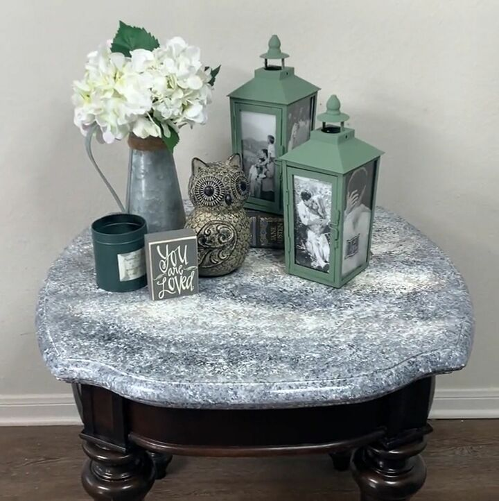 faux granite painting technique to try