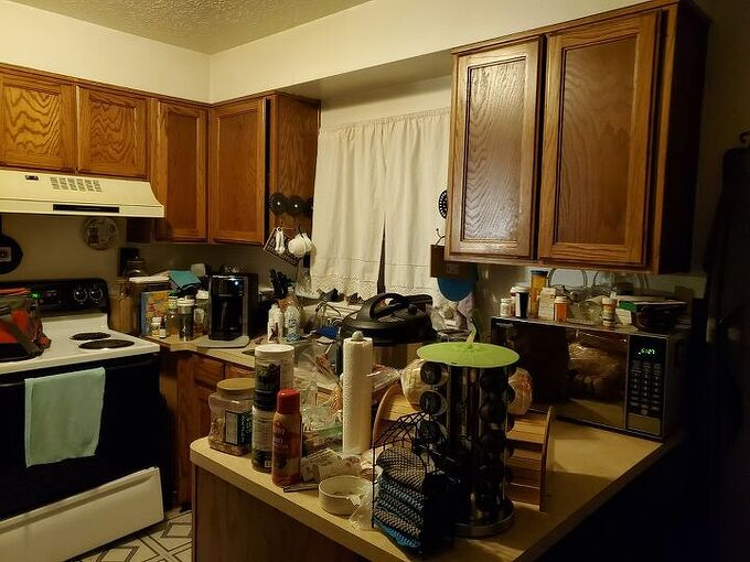 q my kitchen is disgusting in its design