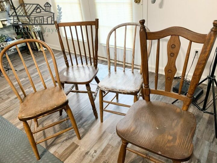 4 Chairs for $40.00