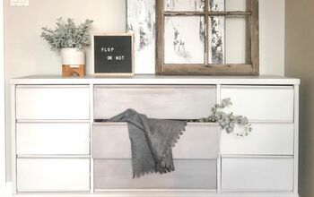 Mid Century Dresser in Greys - Upcycle