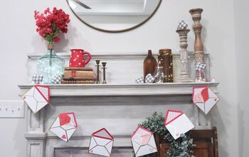 DIY Valentine's Day Envelope Garland