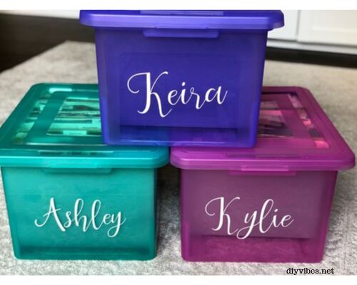 diy memory box to organize your child s papers