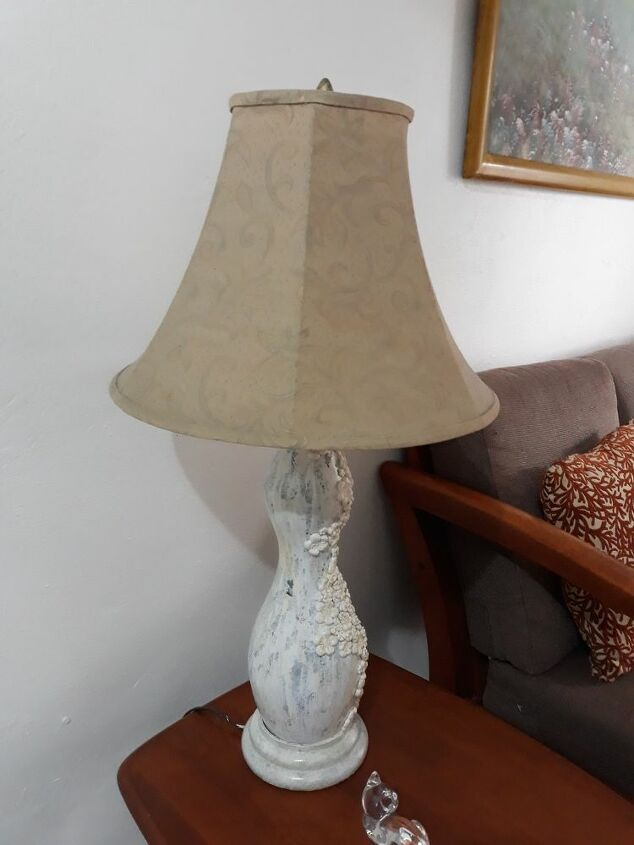 q how do i paint a lamp shade