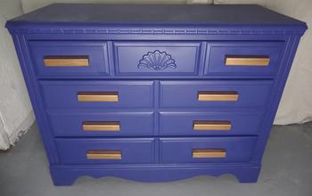 Dresser Makeover: DIY Drawer Handles & DIY Chalk Paint