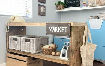 Kids Rustic Market Stall (PART 1)