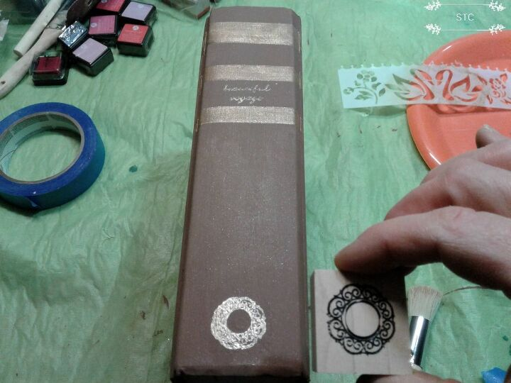 Adding Rubber Stamp Design