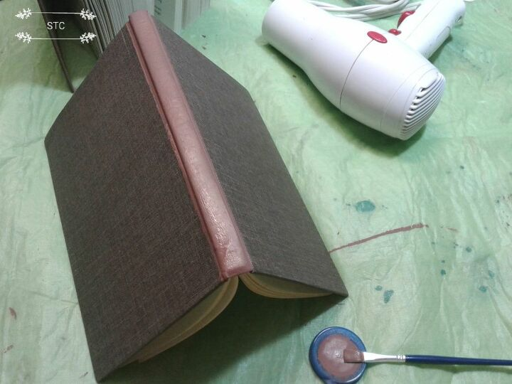 Painting Book Spine
