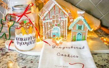 DIY Cookie Tea Towel Gift Set