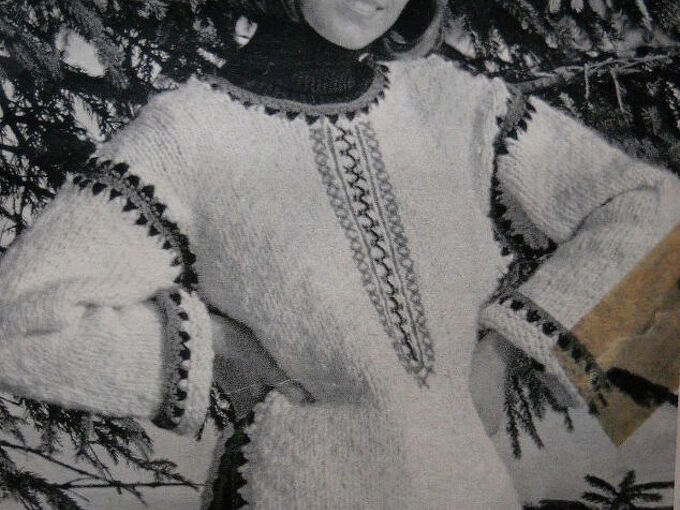 q where to find this sweater pattern