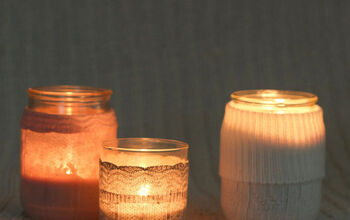 How to Easily Make Cozy DIY Candle Sweaters