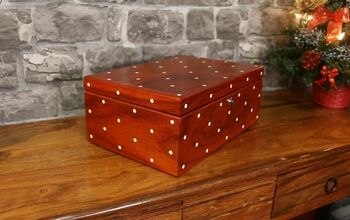Make A Polka Dot Keepsake Box