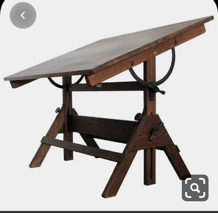 q trying to build an antique style drafting table desk