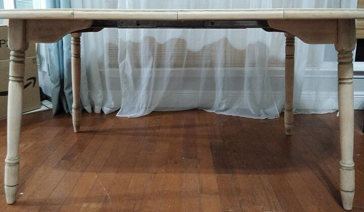q how should i paint or stain this table for resale