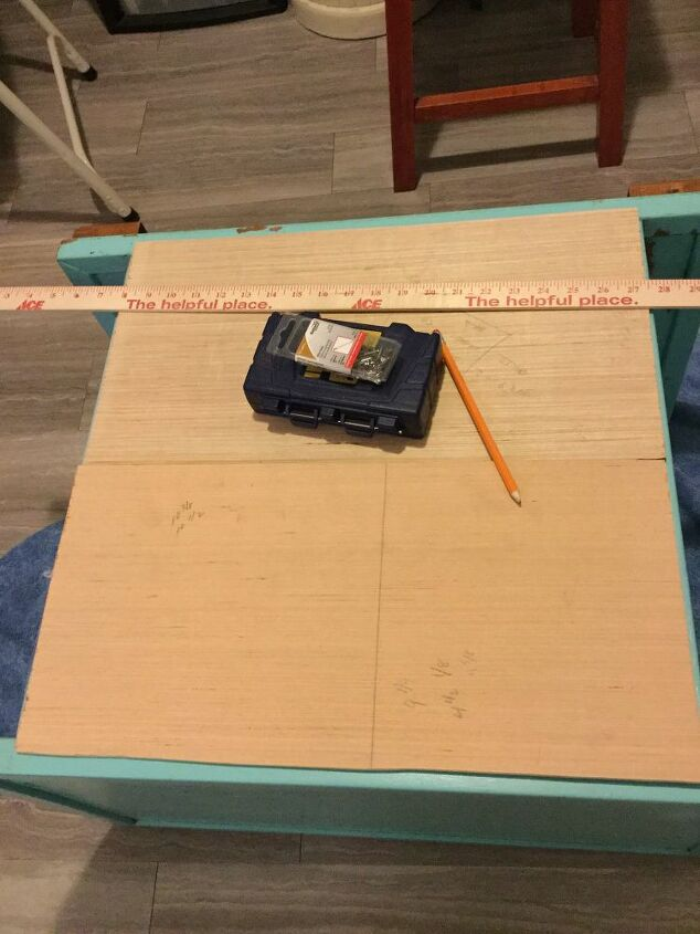 thrift store gem i made my own rolling table for 5
