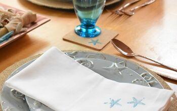 Quick & Easy Way to Dress Up Cloth Napkins