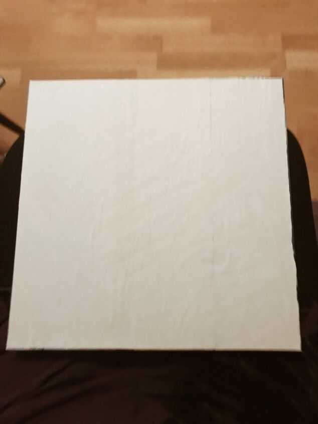 Cover with plain paper