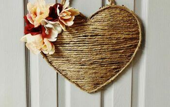 Dollar Tree Heart Turned Valentine's Day Cute!