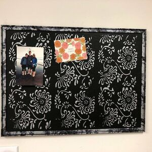Ornate designer cork board