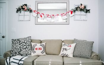 DIY Valentine's Day Pillows