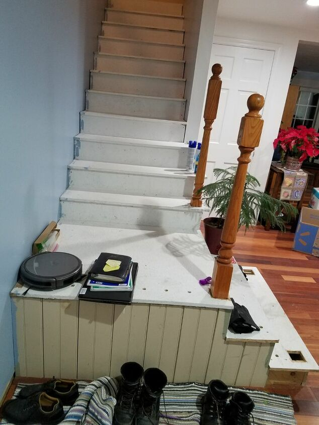 q how do we redesign our staircase