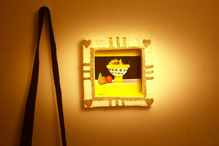 picture frame from paper mache