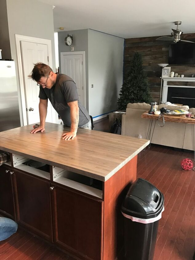 replacing your kitchen island