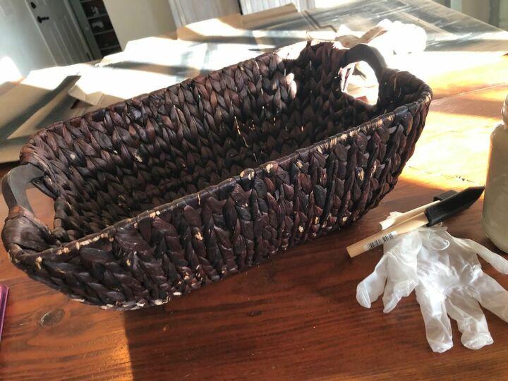 Battered basket