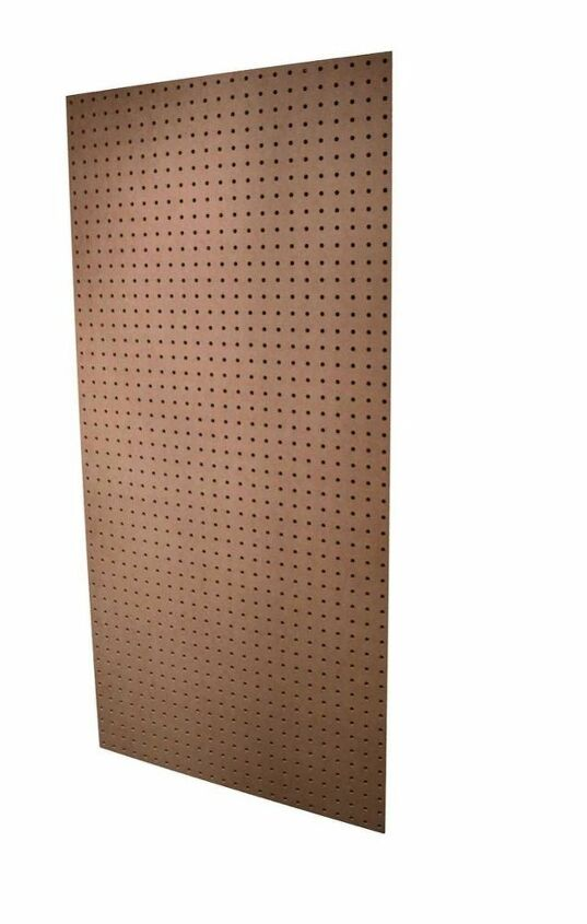 Scrape peg board