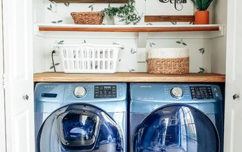 Cheap Remodeled Laundry Room