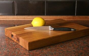 Turn Kitchen Worktop Off Cuts Into Cutting Boards!