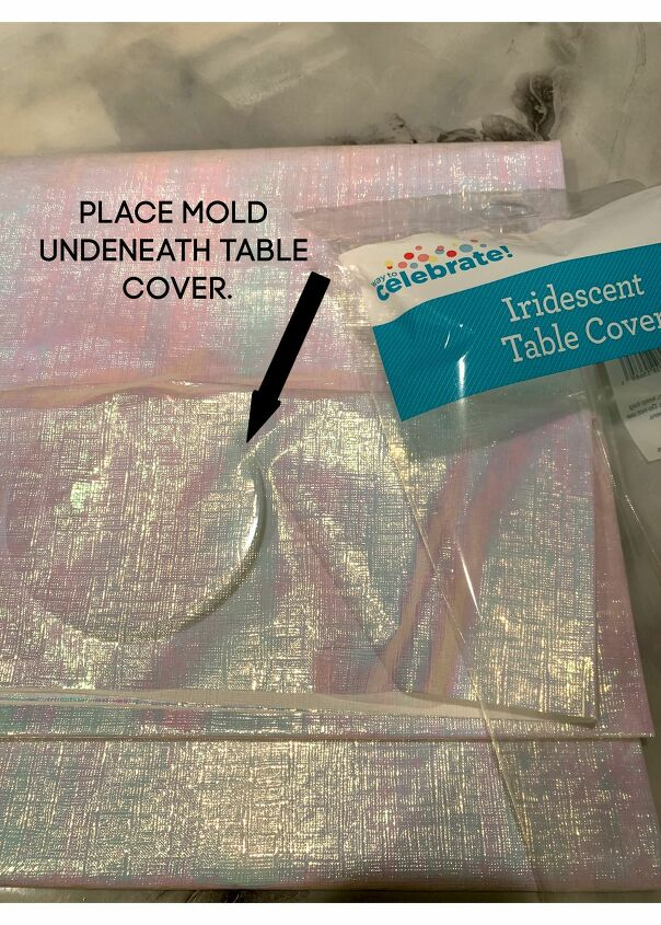 how to make iridescent resin bubble coasters