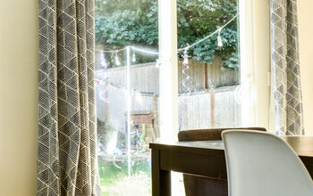 Make Inexpensive Curtains Look Custom!