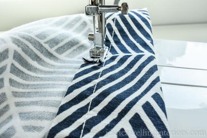 make inexpensive curtains look custom