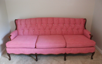 I Painted My Couch!