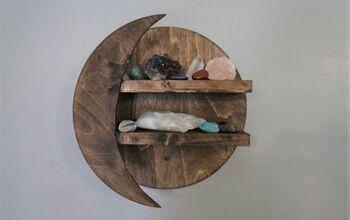 DIY Moon Shelf