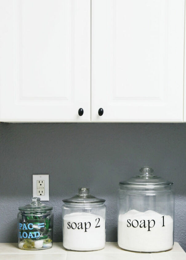 how to paint cabinet pulls in seconds