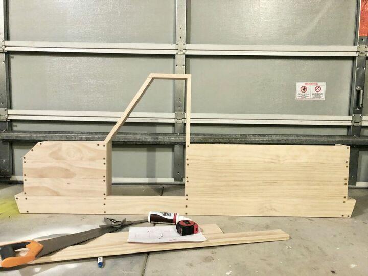 Structure complete (minus shelves and door)