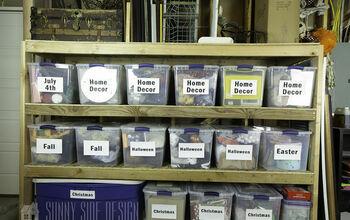 Storage Room Organization Shelves