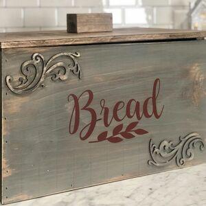 Praire house bread box